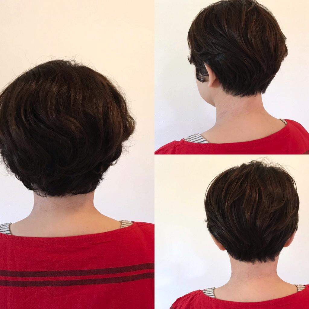 縮毛矯正をやめてくせ毛を活かし始めたお客様の事例