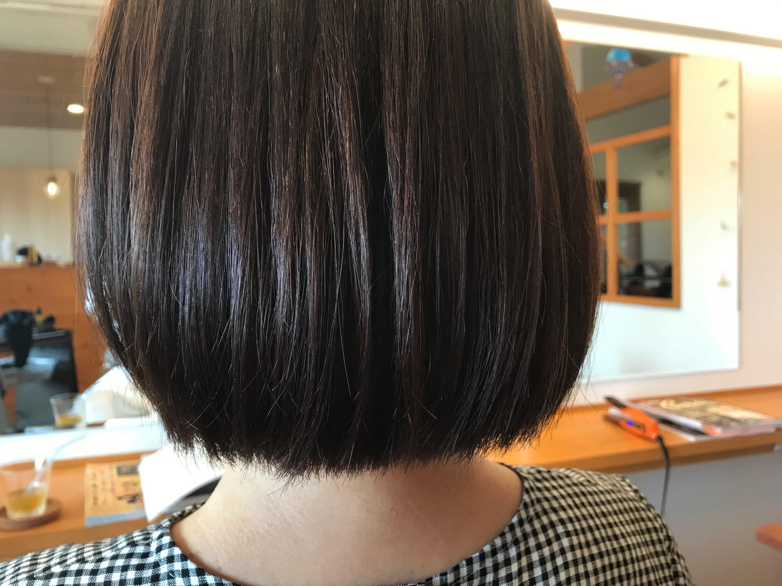 長野市で髪質改善を行う美容室